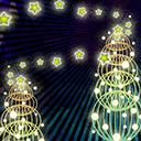 クリスマスツリー(背景)